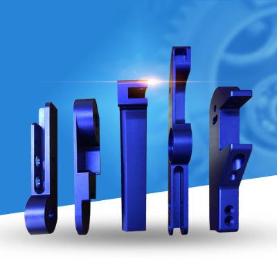铝件喷砂氧化蓝色铝合金加工