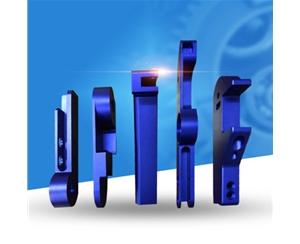 铝件喷砂氧化蓝色铝合金加工非标精密零件