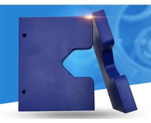 蓝色尼龙件机自动数控车床